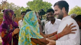 Rahul Gandhi urged people in Amethi to vote for the Congress party