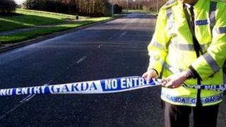 Garda seals off road