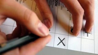 A generic voting card