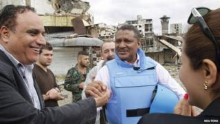 Syria conflict: Government troops retake Homs Old City