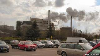 Kenco factory in Banbury by Francois Thomas