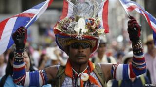 Thailand police fire tear gas at protesters in Bangkok