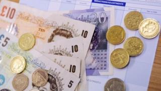 Cash on bank statement