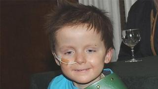 Five-year-old Oscar Knox died earlier this year from the rare and aggressive cancer, Neuroblastoma