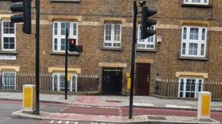 Pedestrian crossing in London