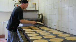 Foleys Oatcakes production line