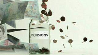 graphic of 'pension pot'