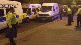 Police raid the Nelson pub on Between Towns Road in Oxford