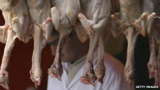 Halal butcher