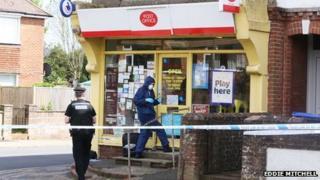 Durrington post office raid