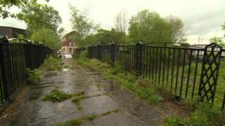 Scene of stabbing in Rochdale