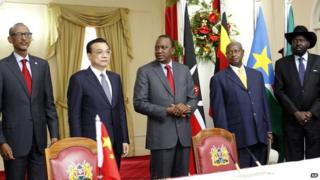 China to build new East Africa railway line