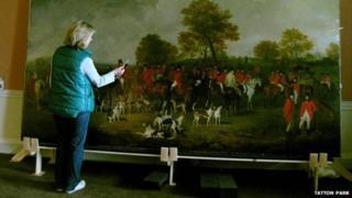 Julia Dalzell restoring the Cheshire Hunt