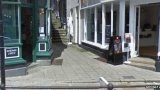 Arcade Steps in Penzance. Pic: Google