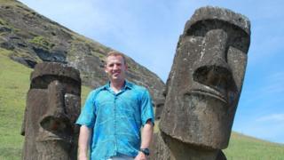James Grant-Peterkin on Easter Island