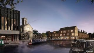 Jericho Wharf plans