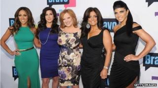 Melissa Gorga, Jacqueline Laurita, Caroline Manzo, Kathy Wakile, and Teresa Giudice of 'The Real Housewives of New Jersey'