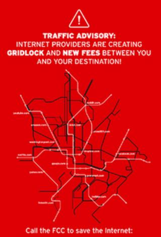 Net neutrality advert