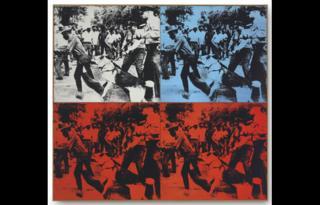 Warhol's Race Riot, 1964