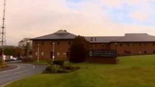Dyfed-Powys Police headquarters