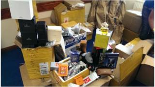 Counterfeit goods