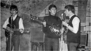 The Beatles at the Cavern Club
