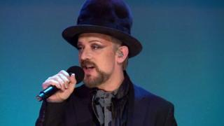 Boy George on The Andrew Marr Show