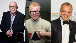 Ken Bruce/Chris Evans/Graham Norton