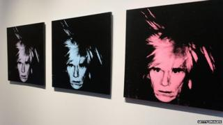Andy Warhol, self-portraits