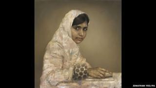 Malala Yousafzai by Jonathan Yeo