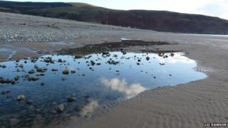 Fairbourne beach