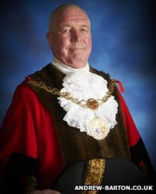 The Mayor of Douglas courtesy Andrew Barton