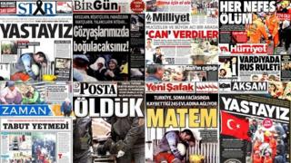 Compilations of Turkish front pages
