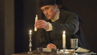 Ben Miles as Thomas Cromwell in Wolf Hall