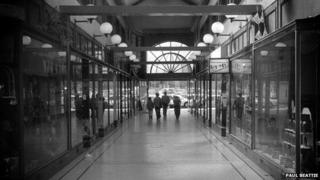 North Street Arcade prior to the 2004 fire