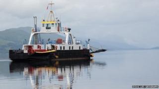 Corran Ferry reserve vessel MV Maid of Glencoul