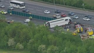 Crash on the M11