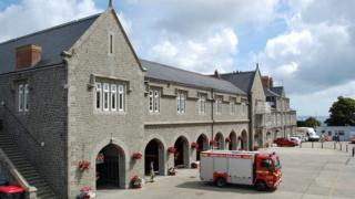 Guernsey's Town fire station