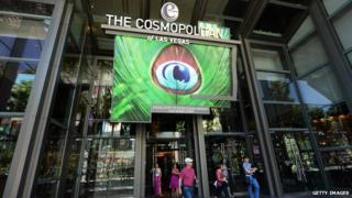 The Cosmopolitan of Las Vegas entrance