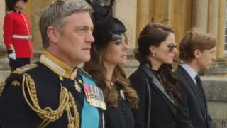 A still from the trailer to The Royals