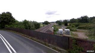 A338 road bridge in Grove