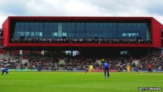 Old Trafford, home of Lancashire County Cricket Club