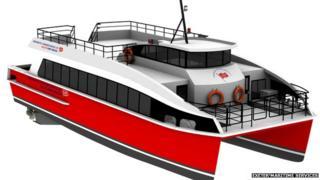 Ferry graphic