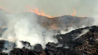 Fire in Meriden