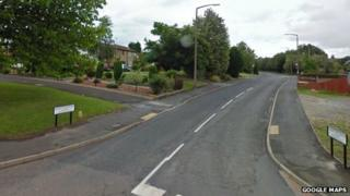 Police said Grafton Road was closed so forensic tests could take place