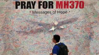 Messages for the missing passengers from flight MH370