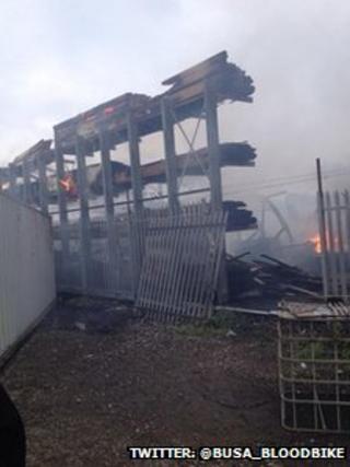 Northfleet fire