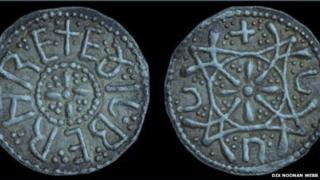 The silver penny minted for Ethelbert II
