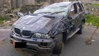 Car involved in crash