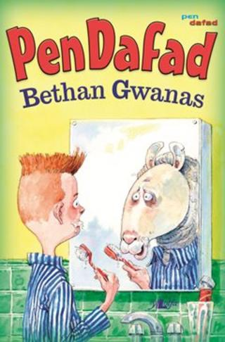 Clawr llyfr Pen Dafad gan Bethan Gwanas